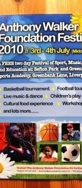 10.07.03 Anthony Walker Foundation ~ Sefton Park Liverpool