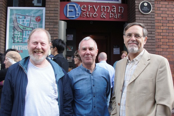 The Everyman Bistro is 40! Roger Phillips, Paddy Byrne, Tony Burrage